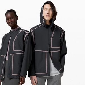 lululemon lab Ashta Rain Jacket - graphite grey